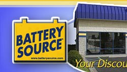 Battery Source | Your Discount Battery Super Store